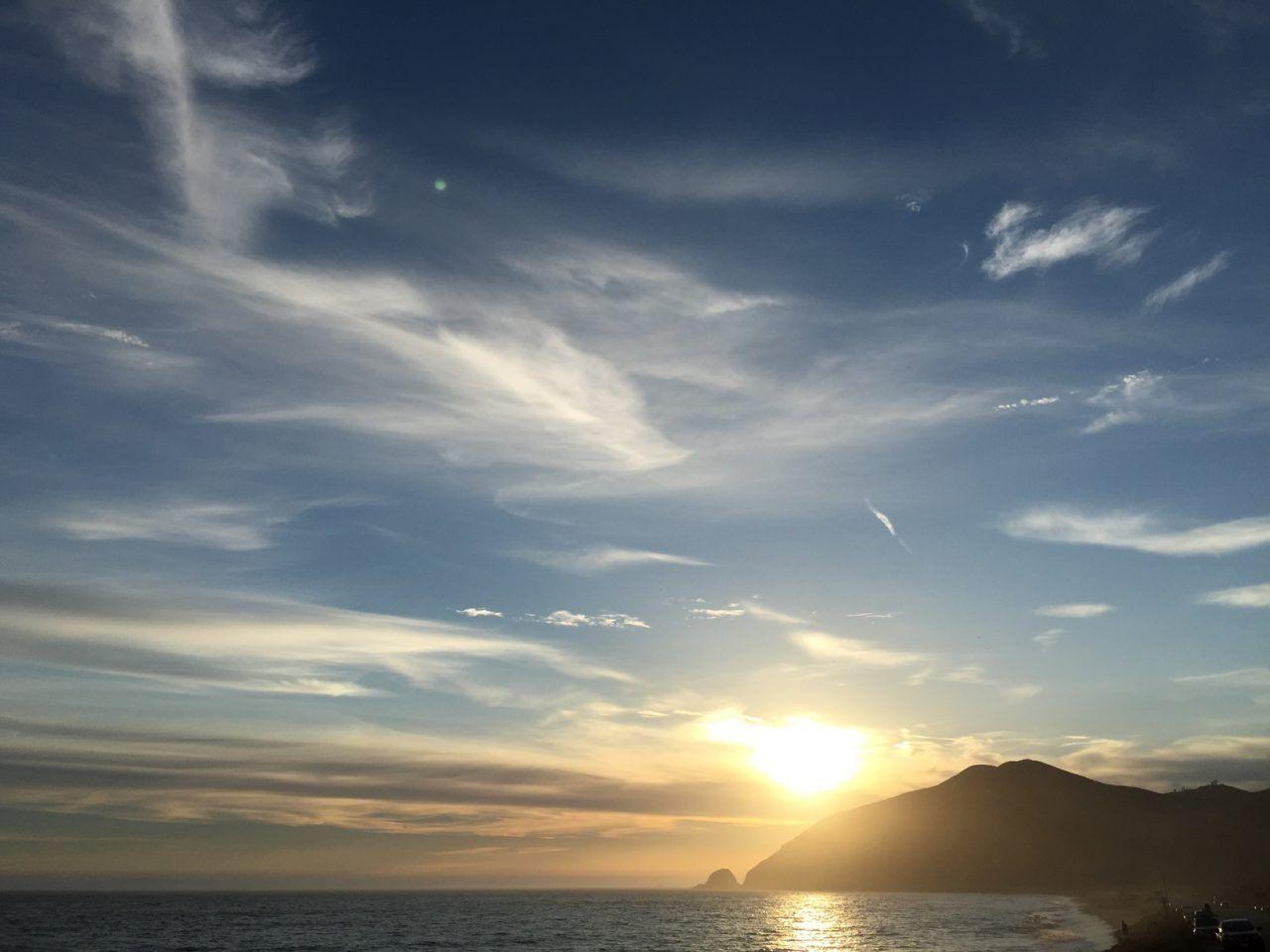 California Sunset 夕焼け